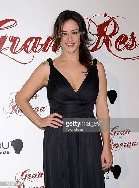 Actress Luz Valdenebro attends the premiere of 'Gran Reserva' TV series new season at Capitol Cinema on April 23 2012 in Madrid Spain