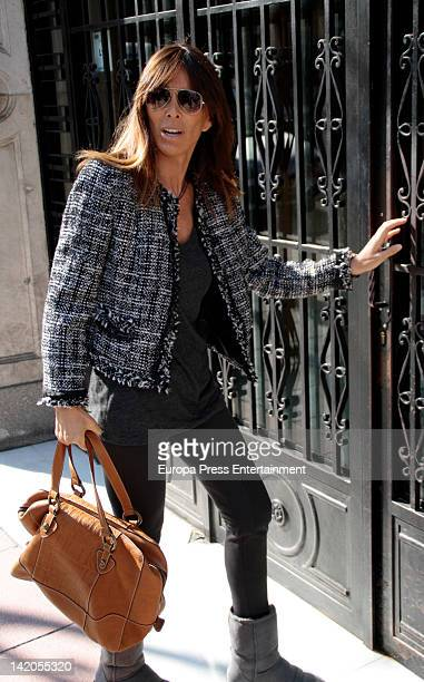 Actress Lydia Bosch attends Audiencia Provincial on March 28 2012 in Madrid Spain
