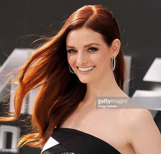 Actress Lydia Hearst arrives at the Los Angeles premiere of 'Terminator Genisys' at Dolby Theatre on June 28 2015 in Hollywood California