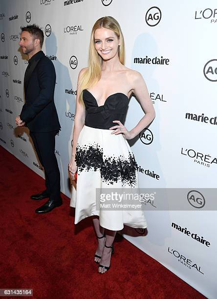 Actress Lydia Hearst attends Marie Claire's Image Maker Awards 2017 at Catch LA on January 10 2017 in West Hollywood California