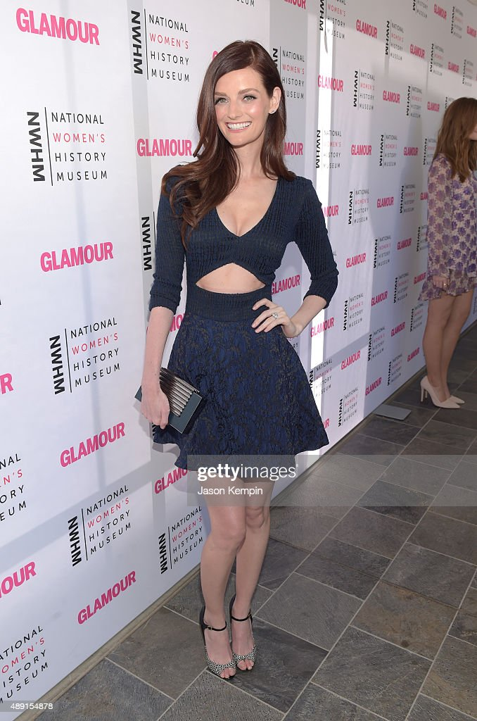 Actress Lydia Hearst attends the 4th Annual Women Making History Brunch presented by the National Women's History Museum and Glamour Magazine at...