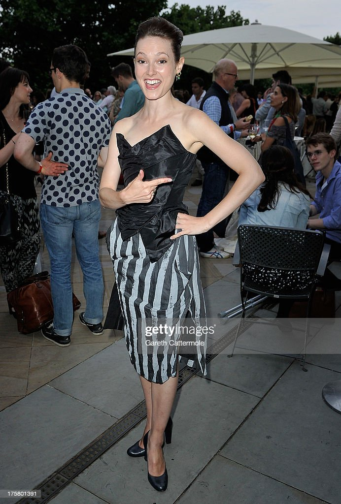 Actress Lydia Wilson attends the 'About Time' world premiere at Somerset House on August 8, 2013 in London, England.