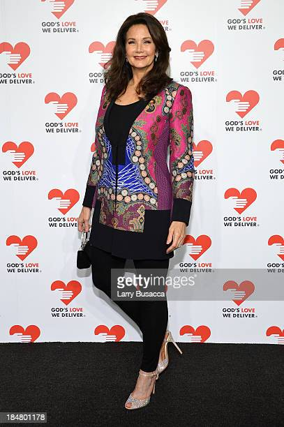 Actress Lynda Carter attends God's Love We Deliver 2013 Golden Heart Awards Celebration at Spring Studios on October 16 2013 in New York City