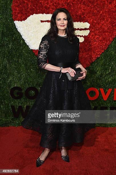 Actress Lynda Carter attends God's Love We Deliver Golden Heart Awards at Spring Studio on October 15 2015 in New York City
