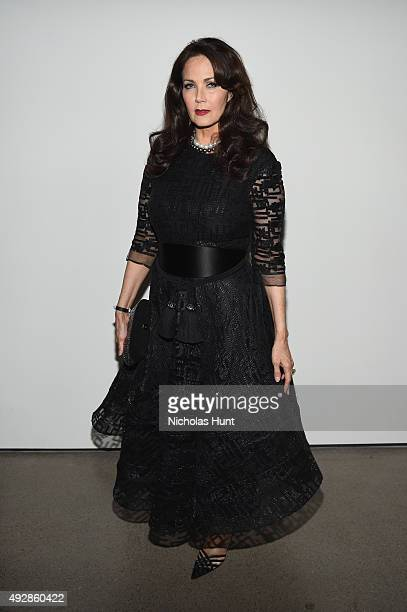 Actress Lynda Carter attends God's Love We Deliver Golden Heart Awards at Spring Studio on October 15 2015 in New York