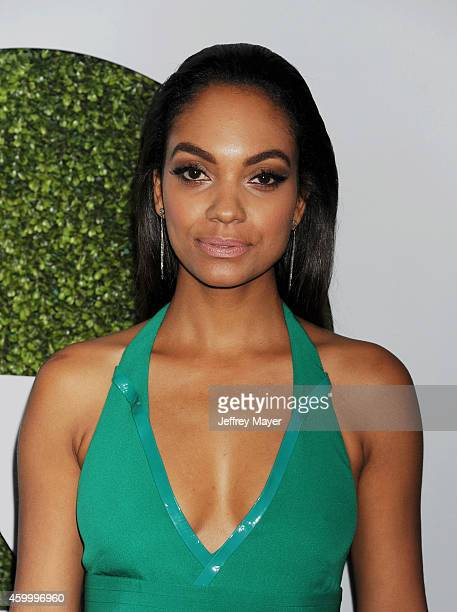 Actress Lyndie Greenwood arrives at the 2014 GQ Men Of The Year Party at Chateau Marmont on December 4 2014 in Los Angeles California