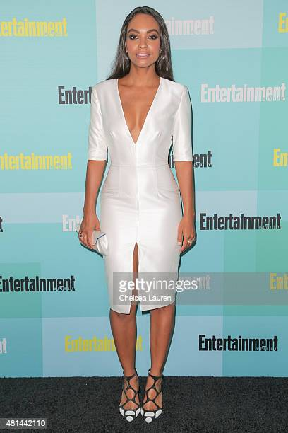 Actress Lyndie Greenwood arrives at the Entertainment Weekly celebration at Float at Hard Rock Hotel San Diego on July 11 2015 in San Diego California
