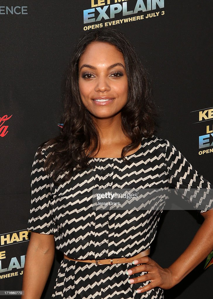 Actress Lyndie Greenwood attends Movie Premiere 'Let Me Explain' with Kevin Hart during the 2013 BET Experience at Regal Cinemas LA Live on June 27...