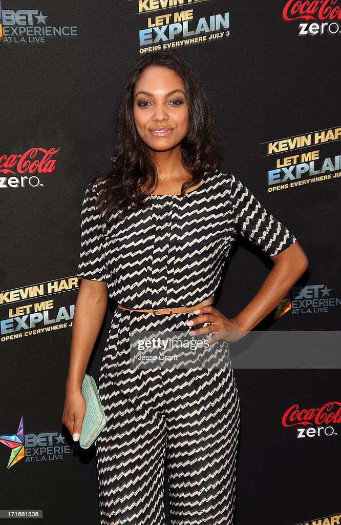 Actress Lyndie Greenwood attends Movie Premiere 'Let Me Explain' with Kevin Hart during the 2013 BET Experience at Regal Cinemas L.A. Live on June 27, 2013 in Los Angeles, California.