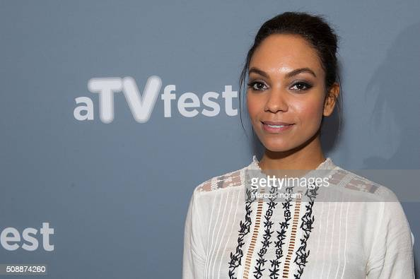 Actress Lyndie Greenwood attends 'Sleepy Hollow' event during SCAD aTVfest 2016 Day 3 at the Four Seasons Atlanta Hotel on February 6 2016 in Atlanta...