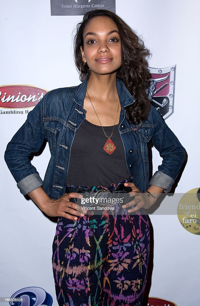 Actress Lyndie Greenwood attends the 10th annual anniversary and Cinco De Mayo benefit with annual Charity Celebrity Poker Tournament at Velvet Margarita on May 4, 2013 in Hollywood, California.