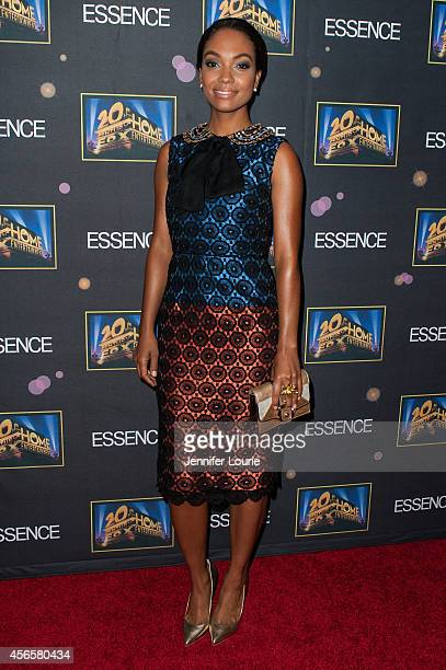 Actress Lyndie Greenwood attends the Essence 'A Toast To Primetime' Event at the Herringbone Mondrian LA on October 2 2014 in Beverly Hills California
