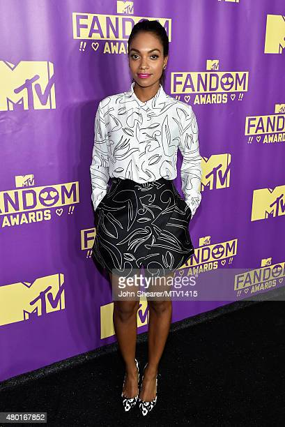 Actress Lyndie Greenwood attends the MTV Fandom Awards San Diego at PETCO Park on July 9 2015 in San Diego California