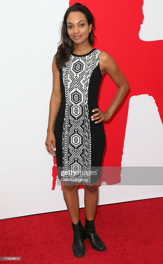 Actress Lyndie Greenwood attends the premiere of Summit Entertainment's 'RED 2' at Westwood Village on July 11, 2013 in Los Angeles, California.
