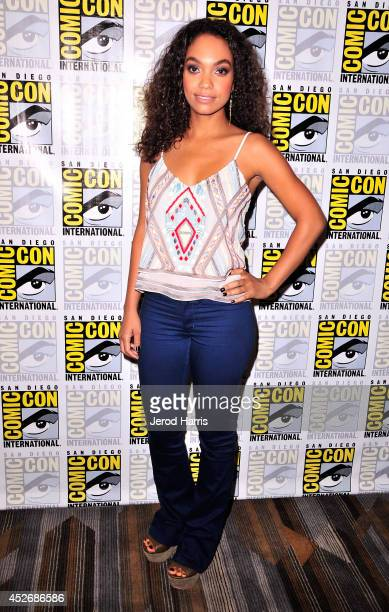 Actress Lyndie Greenwood attends the 'Sleepy Hollow' Press Line during ComicCon International 2014 at Hilton Bayfront on July 25 2014 in San Diego...