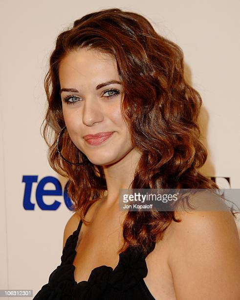 Actress Lyndsy Fonseca arrives at the 'Teen Vogue Young Hollywood Party' at Vibiana on September 20 2007 in Los Angeles California
