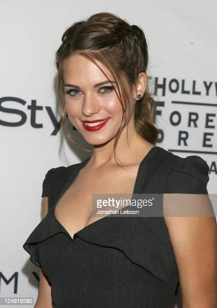 Actress Lyndsy Fonseca arrives at the Tommy Hilfiger Hosts Hollywood Foreign Press Association and InStyle TIFF Party at Windsor Arms Hotel on...