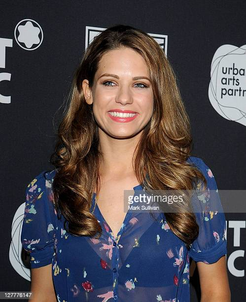 Actress Lyndsy Fonseca arrives for the Montblanc presents the west coast debut of The 24 Hour Plays after party on June 18 2011 in Santa Monica...