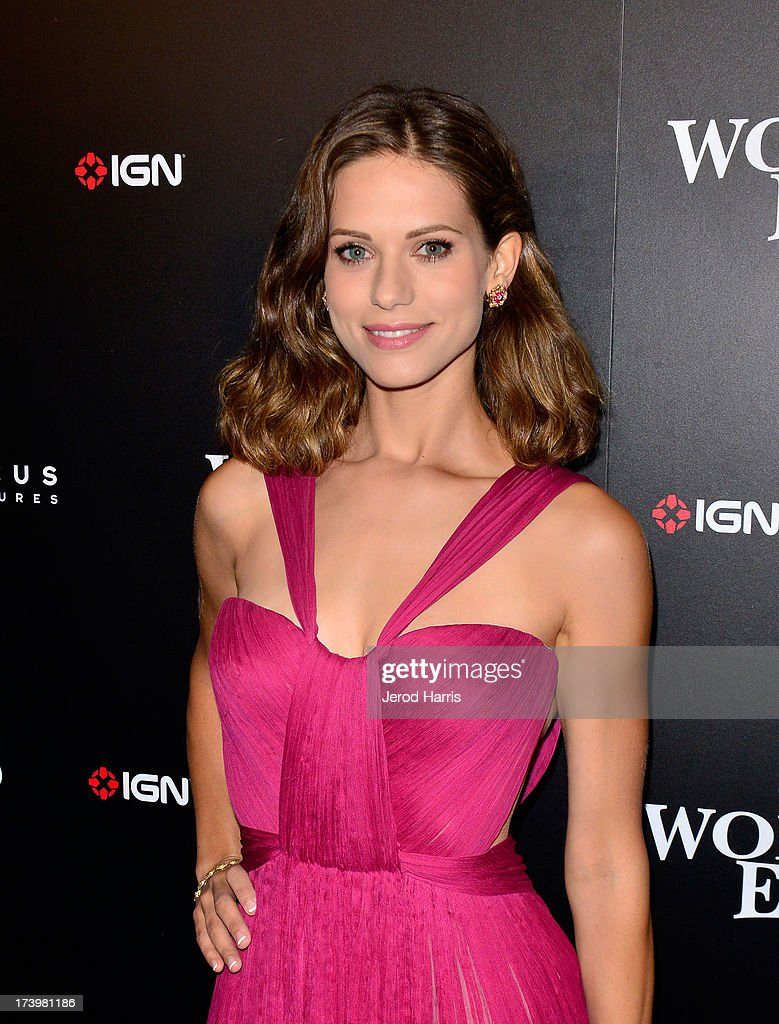 Actress <a gi-track='captionPersonalityLinkClicked' href=/galleries/search?phrase=Lyndsy+Fonseca&family=editorial&specificpeople=589307 ng-click='$event.stopPropagation()'>Lyndsy Fonseca</a> attends IGN And Focus Features Comic-Con 2013 Party Presented By The World's End at Float at Hard Rock Hotel San Diego on July 18, 2013 in San Diego, California.