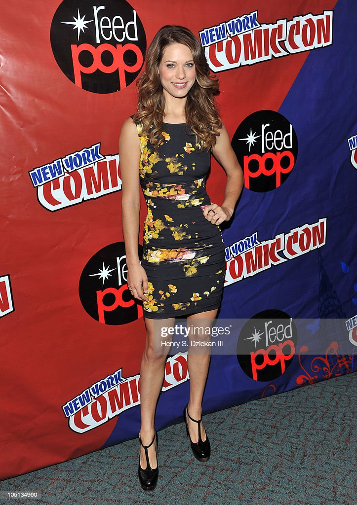 Actress Lyndsy Fonseca attends the 2010 New York Comic Con at the Jacob Javitz Center on October 10, 2010 in New York City.