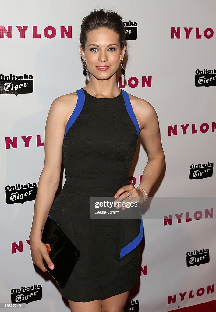 Actress Lyndsy Fonseca attends the NYLON Magazine Annual May Young Hollywood Issue Party at The Roosevelt Hotel on May 14, 2013 in Hollywood, California.