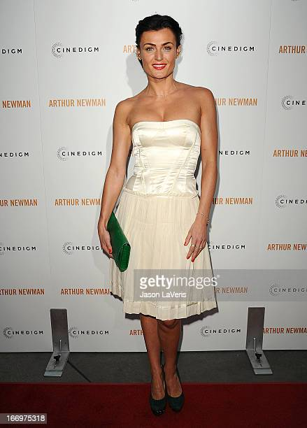 Actress Lyne Renee attends the premiere of 'Arthur Newman' at ArcLight Hollywood on April 18 2013 in Hollywood California