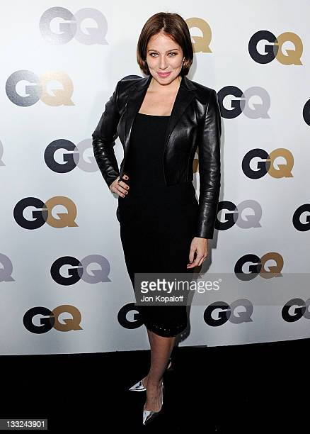 Actress Lynn Collins arrives at the 16th Annual GQ 'Men Of The Year' Celebration at Chateau Marmont on November 17 2011 in Los Angeles California