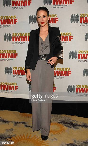 Actress Lynn Collins arrives at The International Women's Media Foundation's Courage In Journalism Awards held at the Beverly Hills Hotel on October...