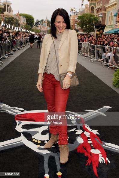Actress Lynn Collins arrives at the world premiere of 'Pirates of the Caribbean On Stranger Tides' at Disneyland on May 7 2011 in Anaheim California