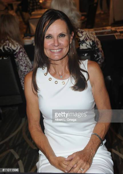 Actress Lynn Herring signs autographs at The Hollywood Show held at Westin LAX Hotel on July 8 2017 in Los Angeles California