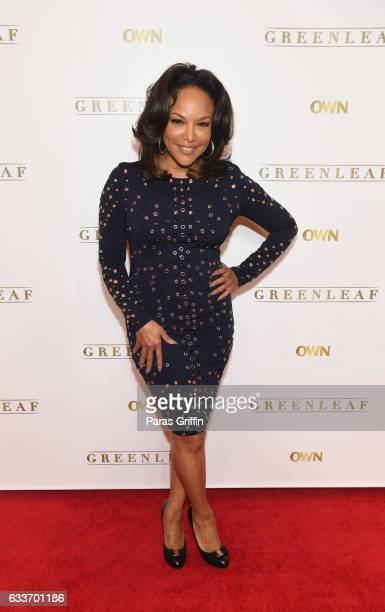 Actress Lynn Whitfield attends 'Greenleaf' Season 2 Press Luncheon at Four Seasons Hotel on February 3 2017 in Atlanta Georgia