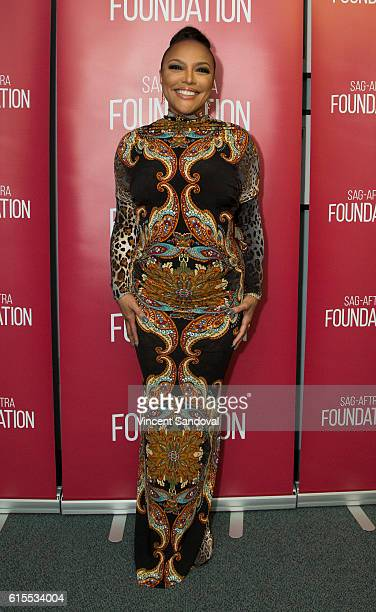Actress Lynn Whitfield attends SAGAFTRA Foundation's Conversations with 'Greenleaf' at SAG Foundation Actors Center on October 17 2016 in Los Angeles...