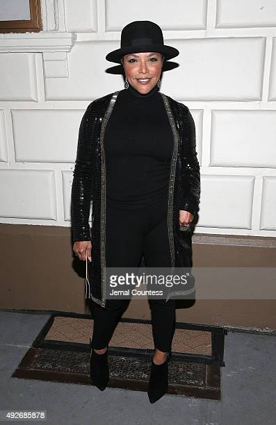 Actress Lynn Whitfield attends the Broadway opening night of 'The Gin Game' at the John Golden Theatre on October 14 2015 in New York City