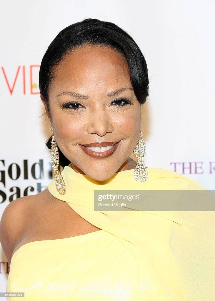 Actress Lynn Whitfield attends the Evidence, A Dance Company 9th annual Torch Ball at The Plaza Hotel on March 25, 2013 in New York City.