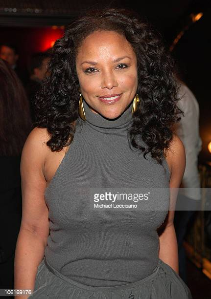 Actress Lynn Whitfield attends 'The Great Debaters' New York reception at Ziegfeld Theater on December 19 2007 in New York City