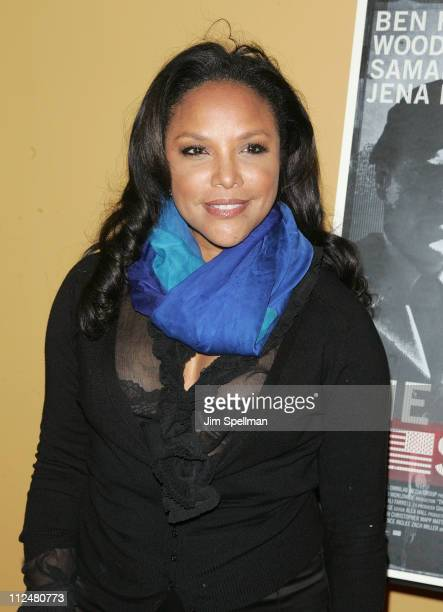 Actress Lynn Whitfield attends 'The Messenger' Premiere at Clearview Chelsea Cinemas on November 8 2009 in New York City