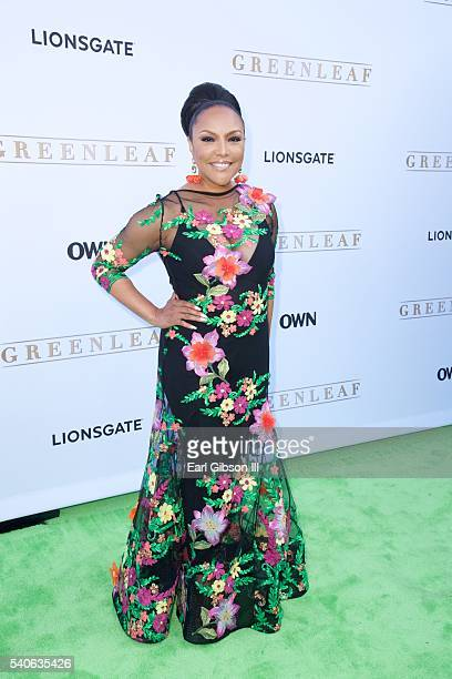 Actress Lynn Whitfield attends the premiere of OWN's 'Greenleaf' at The Lot on June 15 2016 in West Hollywood California