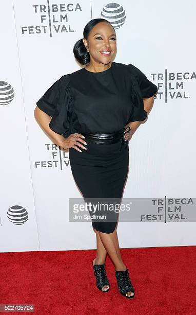 Actress Lynn Whitfield attends the Tribeca Tune In Greenleaf during the 2016 Tribeca Film Festival at John Zuccotti Theater at BMCC Tribeca...