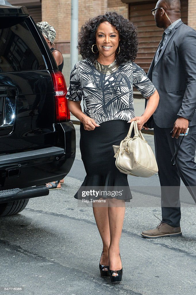 Actress Lynn Whitfield enters the AOL Studios on July 13 2016 in New York City