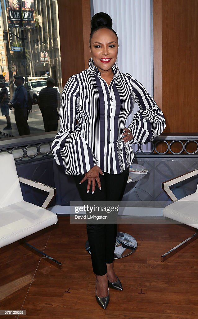 Actress Lynn Whitfield visits Hollywood Today Live at W Hollywood on July 20, 2016 in Hollywood, California.