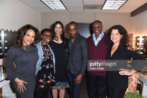 Actress Lynn Whitfield writer Erica L Anderson actress Merle Dandridge director Clement Virgo actor Keith David and Variety Executive Editor...