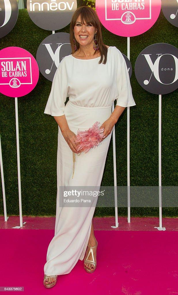Actress Mabel Lozano attends the 'Yo Dona' international awards at La Quinta de la Munoza on June 27, 2016 in Madrid, Spain.