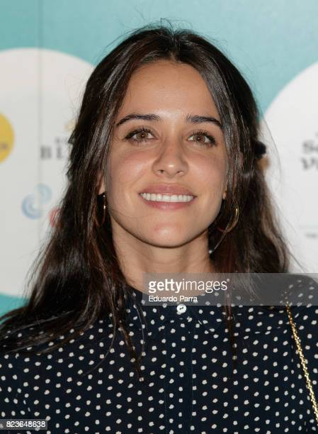 Actress Macarena Garcia attends James Rhodes concert at the Royal Theatre on July 27 2017 in Madrid Spain
