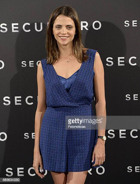 Actress Macarena Gomez attends a photocall for 'Secuestro' at Telefonica Flagship Store on July 27 2016 in Madrid Spain