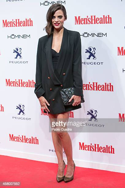 Actress Macarena Gomez attends the 'Men's Health' awards gala at Goya Theatre on October 28 2014 in Madrid Spain