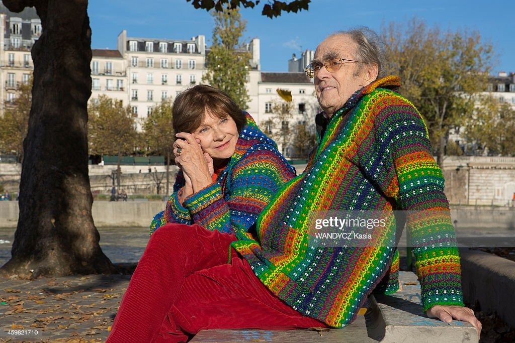 Macha meril and michel legrand portrait session getty images - Pose photo mariage ...
