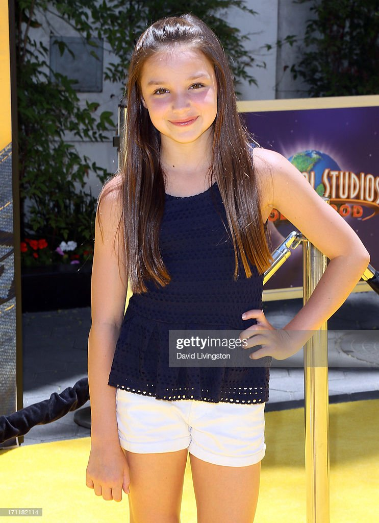 Actress Mackenzie Aladjem attends the premiere of Universal Pictures' 'Despicable Me 2' at the Gibson Amphitheatre on June 22, 2013 in Universal City, California.