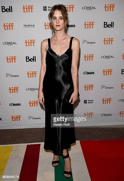 Actress Mackenzie Davis attends the 'Black Mirror' Premiere during the 2016 Toronto International Film Festival at Ryerson Theatre on September 12...