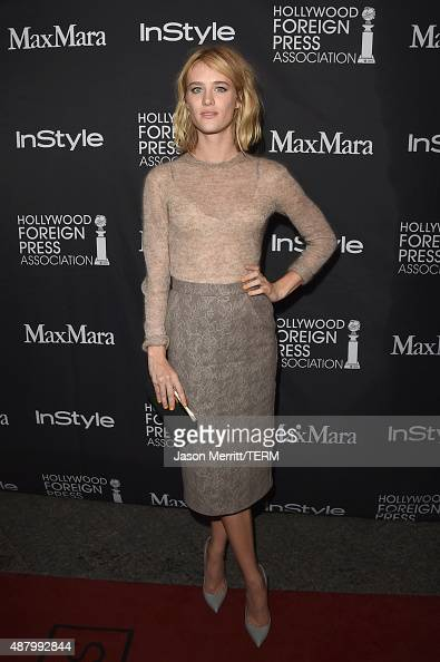 Actress Mackenzie Davis attends the InStyle HFPA party during the 2015 Toronto International Film Festival at the Windsor Arms Hotel on September 12...