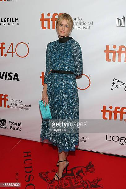 Actress Mackenzie Davis attends the premiere for 'The Martian' at Roy Thomson Hall during the 2015 Toronto International Film Festival on September...